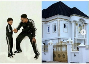 Comedian I Go Dye Gushes Of His Son, Share Cute Photo